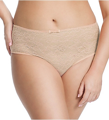 Sculptresse by Panache Pure Lace Full Brief Panty