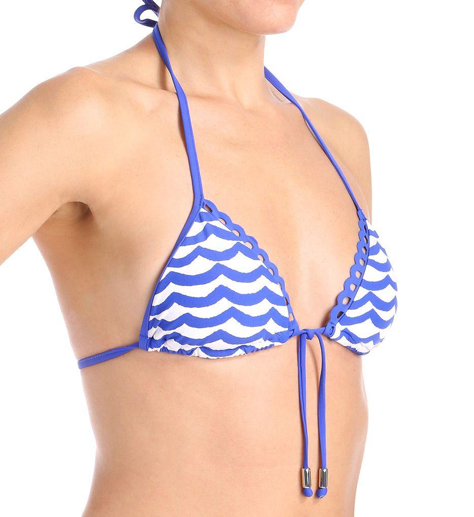 Seafolly Tidal Wave Slide Triangle Swim Top