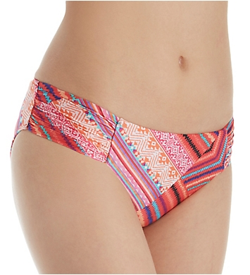 Seafolly Desert Tribe Ruched Side Retro Swim Bottom