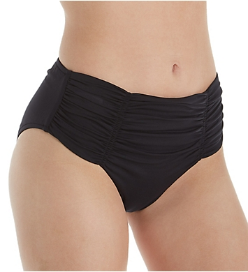 Seafolly Basic Gathered Front Retro Brief Swim Bottom