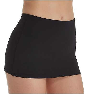 Seafolly Active High Waisted Skirted Brief Swim Bottom