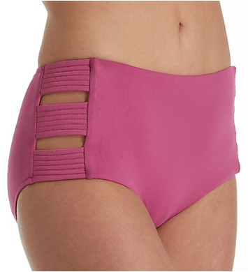 Seafolly Basic High Waisted Quilted Brief Swim Bottom