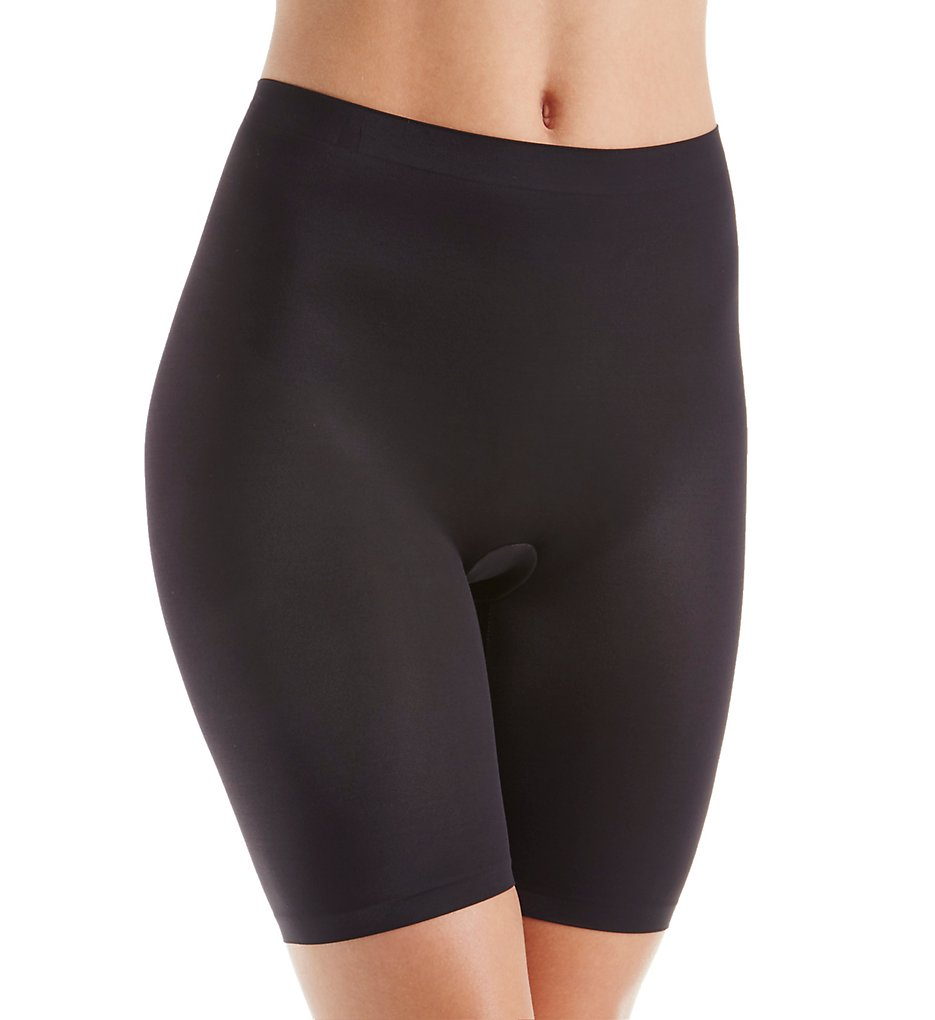 Self Expressions (1887197) -- Self Expressions SE0035 Smooth Tec Thigh Slimmer (Black 2X)
