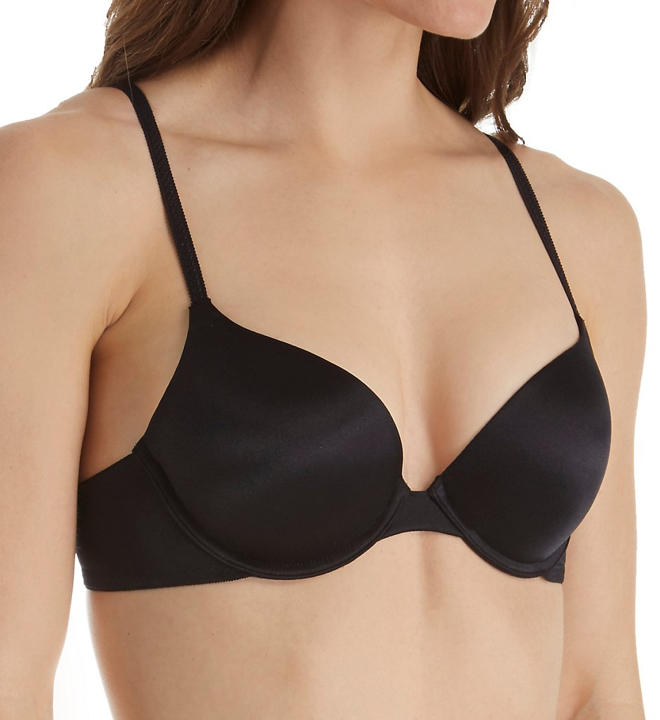 Self Expressions >> Self Expressions SE05101 Custom Lift Tailored Bra (Black 34B)