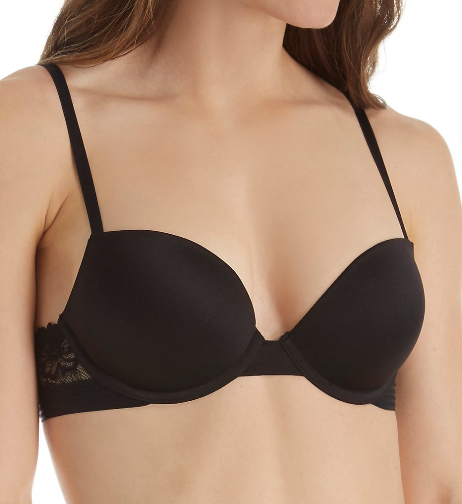 Self Expressions - Self Expressions SE1101 Essentials U-Back Push Up Bra (Black 34A)