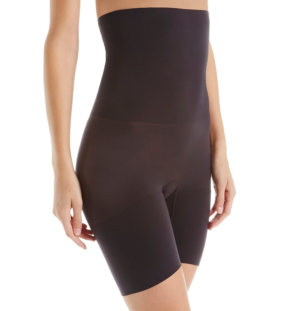 Self Expressions : Self Expressions SE3047 Shape with Style High Waist Thigh Slimmer (Black M)