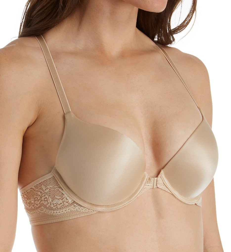 Self Expressions : Self Expressions SE6574 Custom Lift T-Back Front Close Bra (Latte Lift 36A)