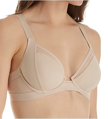 Self Expressions Micro Unlined Underwire Bra