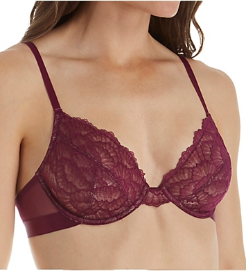 Self Expressions Lace Underwire J Hook Bra