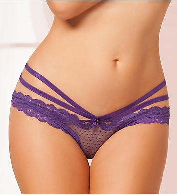 Seven 'til Midnight Open Crotch Mesh Panty