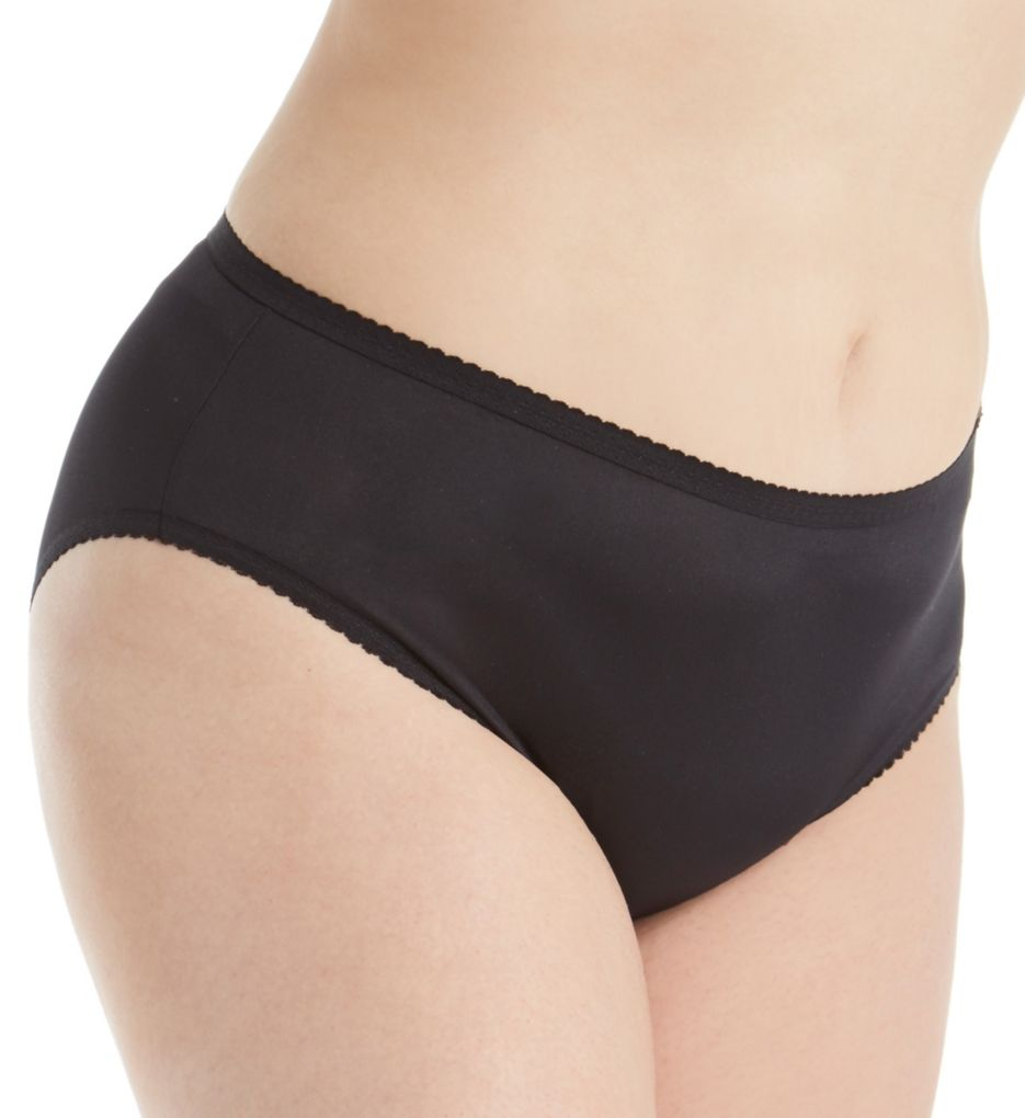Shadowline Plus Size Spandex Hipster Panty