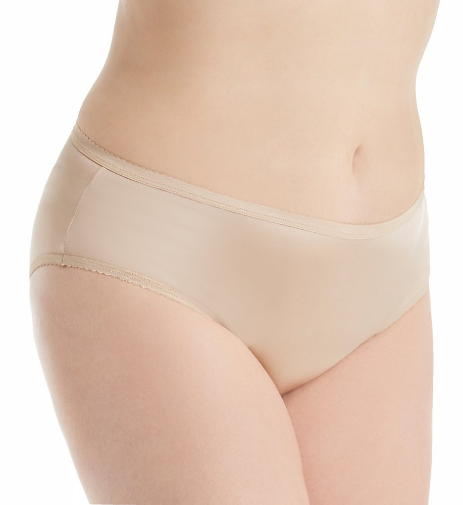 Shadowline 11042P Plus Size Nylon Classics Hipster Panty