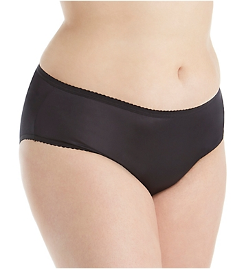 Shadowline Plus Size Nylon Classics Hipster Panty