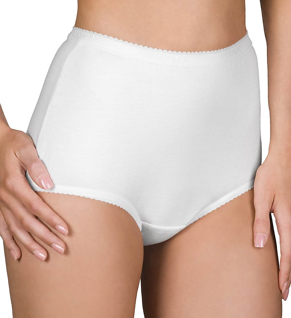 Shadowline >> Shadowline 17021 Cotton Classics Brief Panty (White 5)