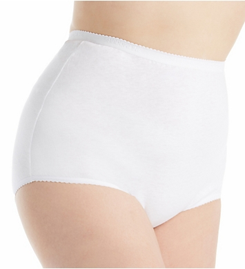 Shadowline Plus Size Cotton Classics Brief Panty