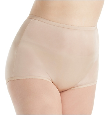 Shadowline Plus Size Nylon Classic Brief Panty