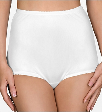 Shadowline Nylon Classics Brief Panty - 3 Pack