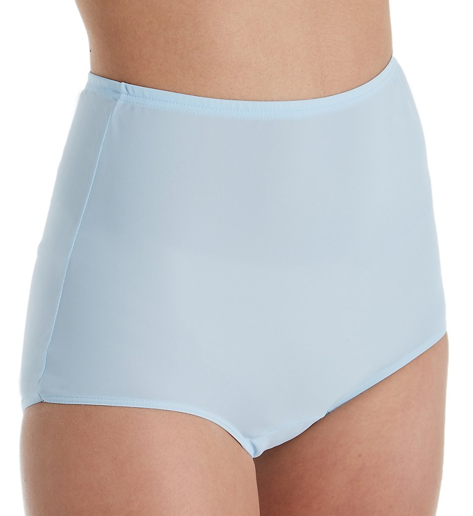 Shadowline - Shadowline 17052 Comfort Band Brief Panty (Blue 5)