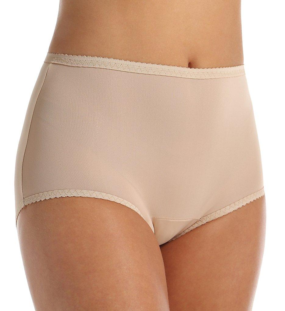 Shadowline 17605 Spandex Modern Brief Panty (Nude S)
