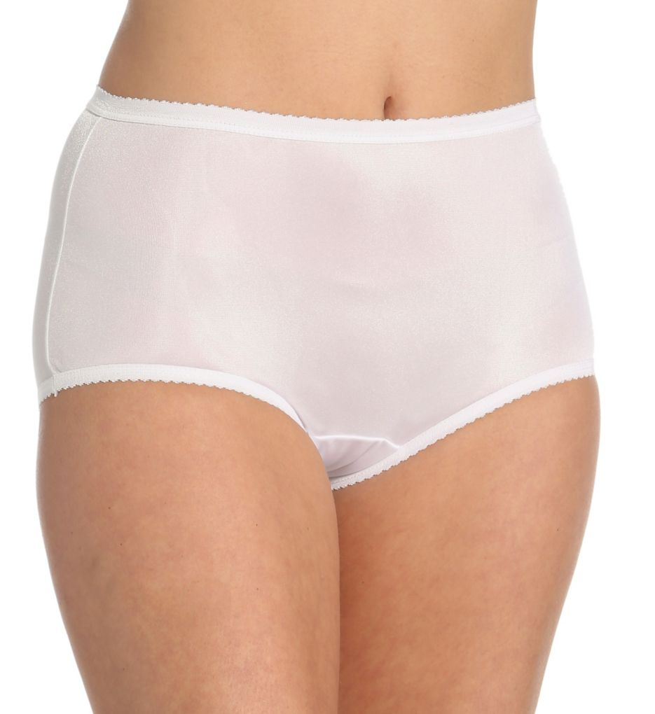 Shadowline Nylon Modern Brief Panty