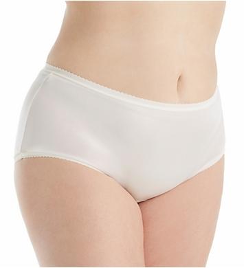 Shadowline Plus Size Nylon Modern Brief Panty