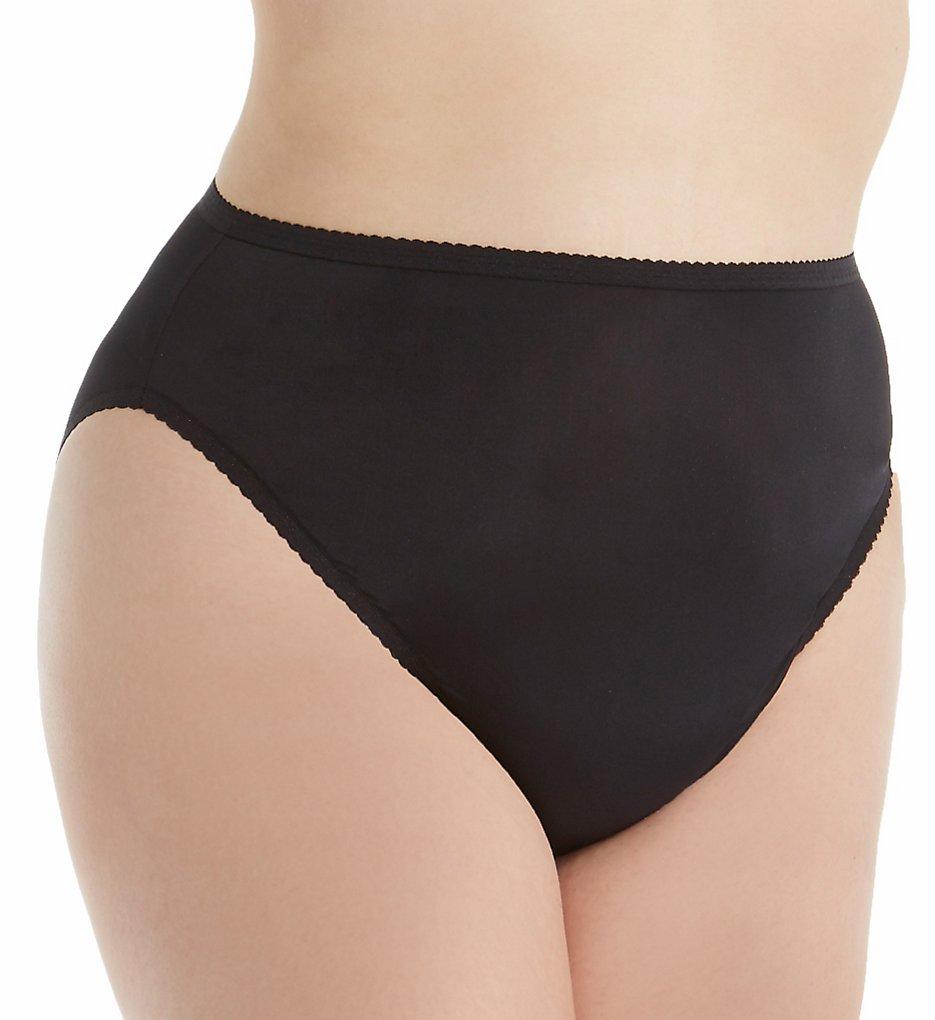 Shadowline 17805P Plus Size Spandex Hi-Leg Brief Panty