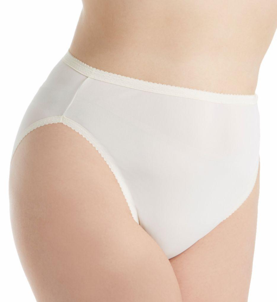 Shadowline Plus Size Spandex Hi-Leg Brief Panty