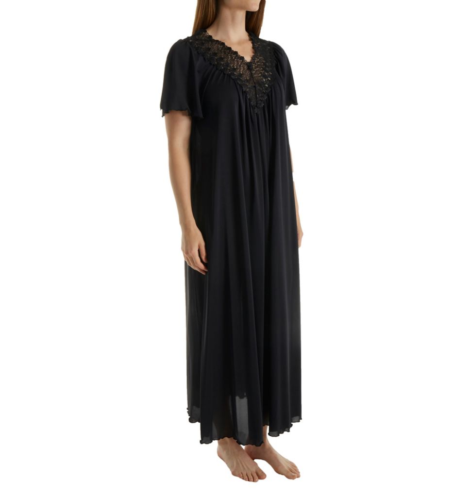 Shadowline Beloved 53 Inch Flutter Sleeve Gown