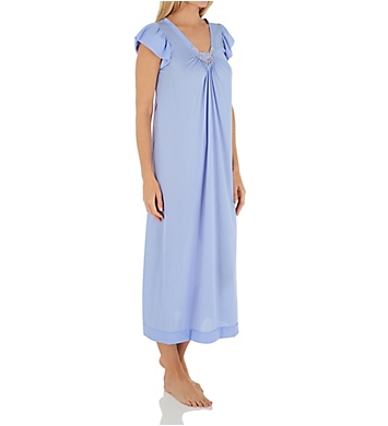 Shadowline Cherish 50 Inch Cap Sleeve Nightgown