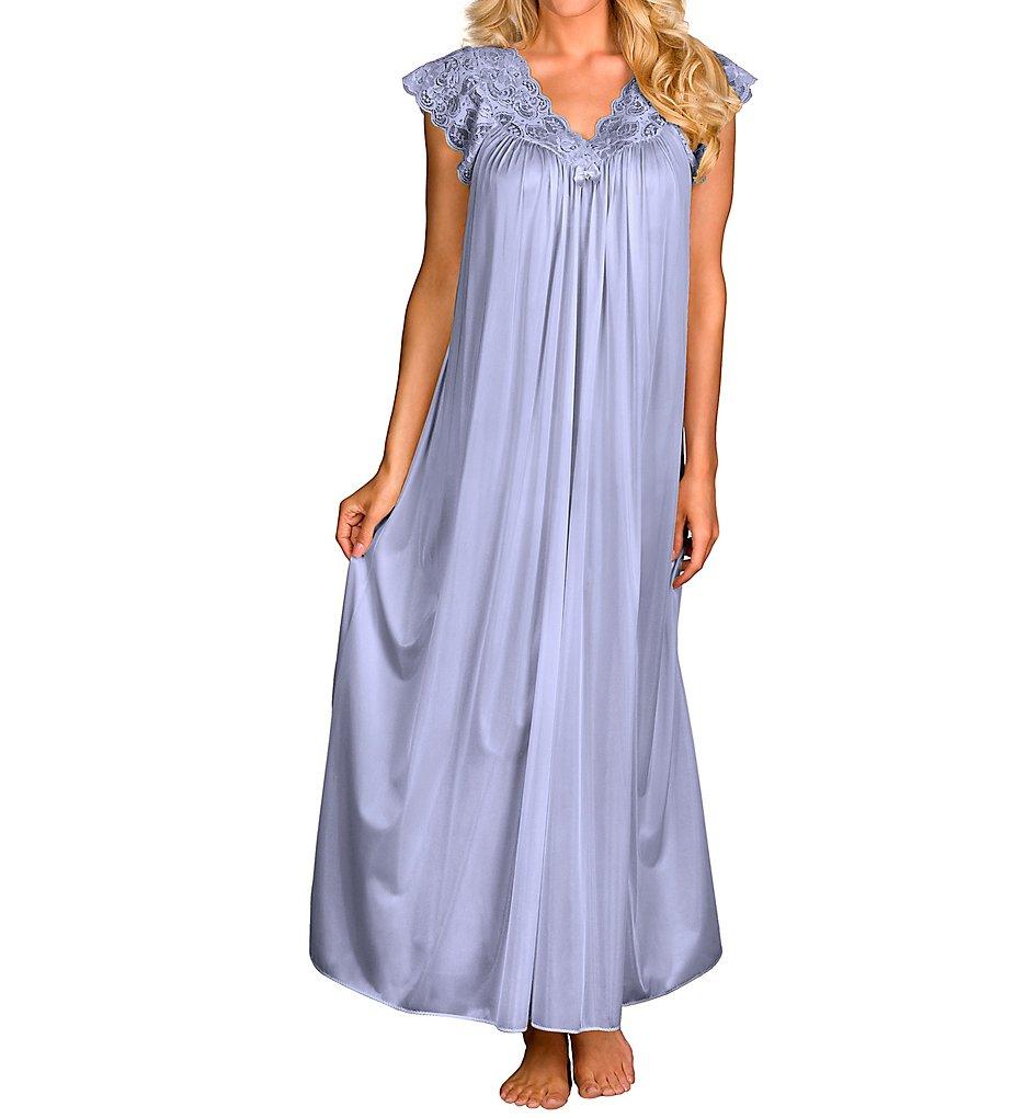 Shadowline 32737 Silhouette 53 Inch Gown M Peri Frost   eBay