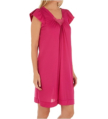 Shadowline Cherish 38 Inch Cap Sleeve Nightgown