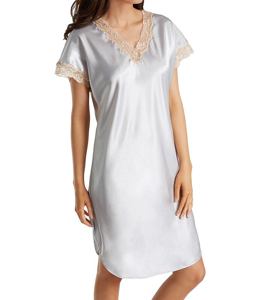 Shadowline 4503 Charming Charmeuse Sleep Gown   eBay