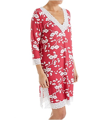 Shadowline Before Bed Lace Trim Sleepshirt