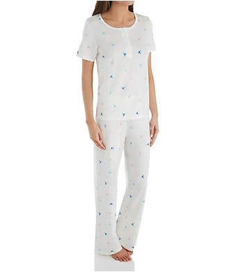 Shadowline Before Bed Placket Front PJ Set