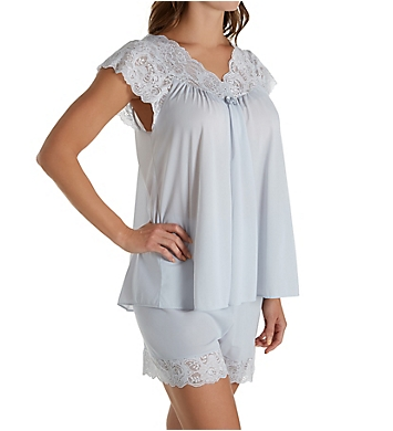 Shadowline Twilight Nylon Tricot Short PJ Set