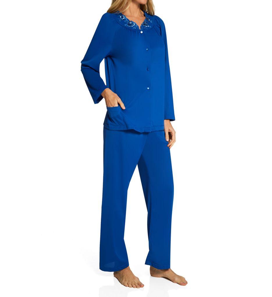 Shadowline Petals Long Sleeve Pajama