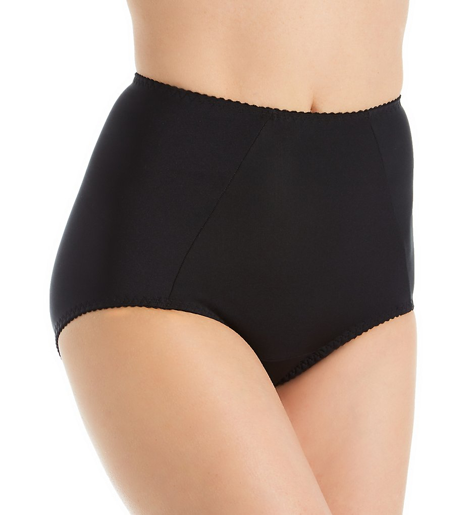 Shape - Shape 1311 Tummy Control Full Brief with Tummy Panel (Black S)
