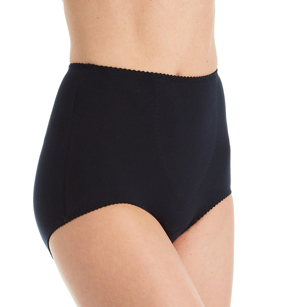 Shape - Shape 1612 Cotton Blend Full Brief with Tummy Panel (Black M)