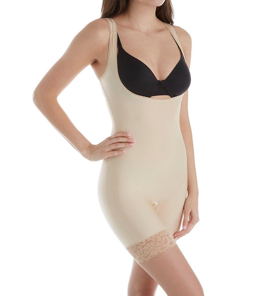 Shape - Shape S4008 WYOB Torsette Body Shaper with Lace (Nude XL)