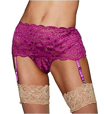 Shirley of Hollywood Stretch Lace Garterbelt