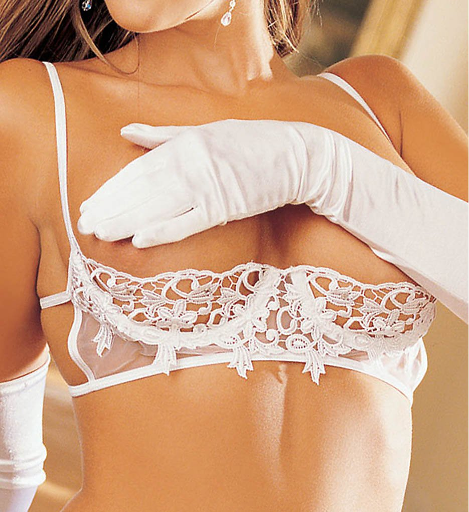 Shirley of Hollywood - Shirley of Hollywood 20277 Venice Shelf Bra (White 32)