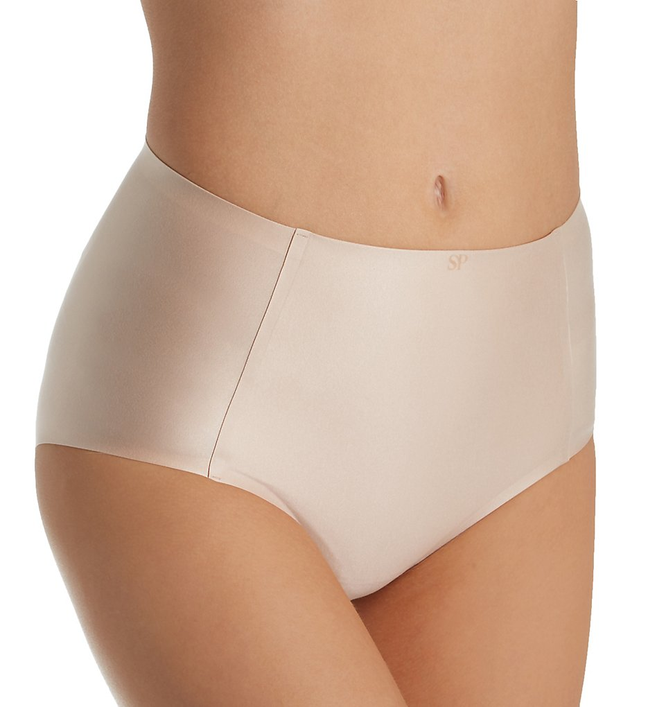 Simone Perele >> Simone Perele 13A610 Invisi'bulle High Waist Brief Panty (Blush XL)