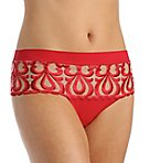 Look Embroidered Boyshort Panty