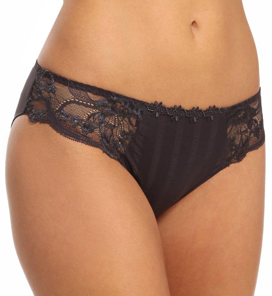 Simone Perele - Simone Perele 13R720 Amour Bikini Panty (Anthracite XS)
