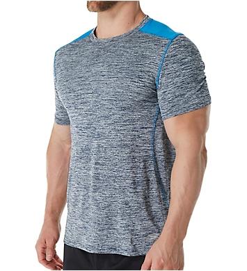 Skechers Space Dye Jersey Mesh Crew T-Shirt