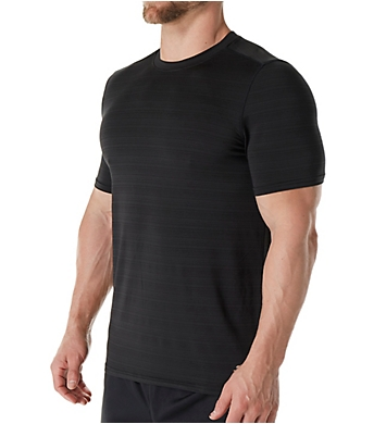 Skechers Barcode Striped Performance T-Shirt