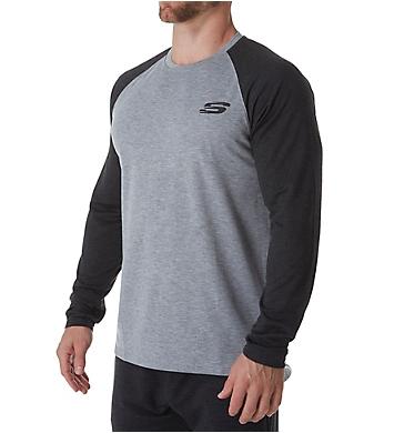Skechers Cozy Raglan Baseball Pullover