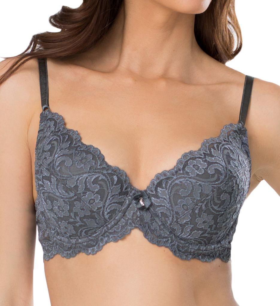 Smart and Sexy Lace Plunge Push Up Underwire Bra