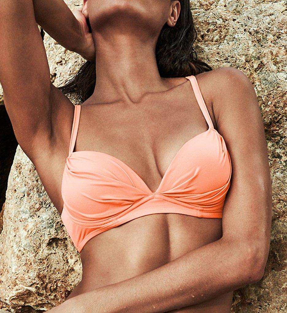 Smart and Sexy SA1002 Swim Secret The Heavenly Convertible Swim Top (Peach Luster)