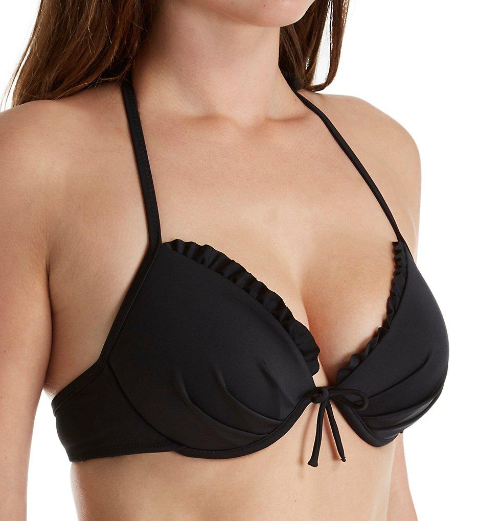 Smart and Sexy SA1004 Swim Secret The Fabulous Bikini Swim Top (Black Hue)